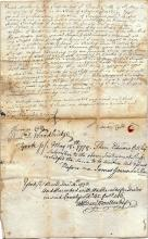 1778 deed signed by several members of the prominent Cutts family
