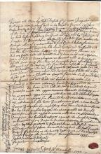 1755 Kittery, Maine deed signed by John Hill