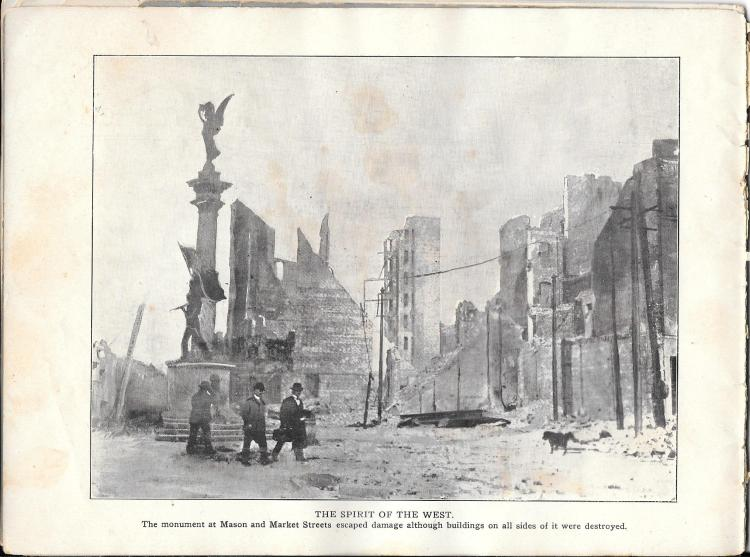 an overview of the disastrous san francisco earthquake of 1906 The earthquake and fire that devastated san francisco on april 18, 1906 was one of the most significant natural disasters in the united states, as well as in the history of insurance.