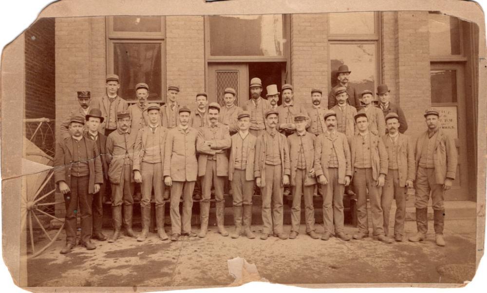 Mailmen, Scranton, PA, 1890s