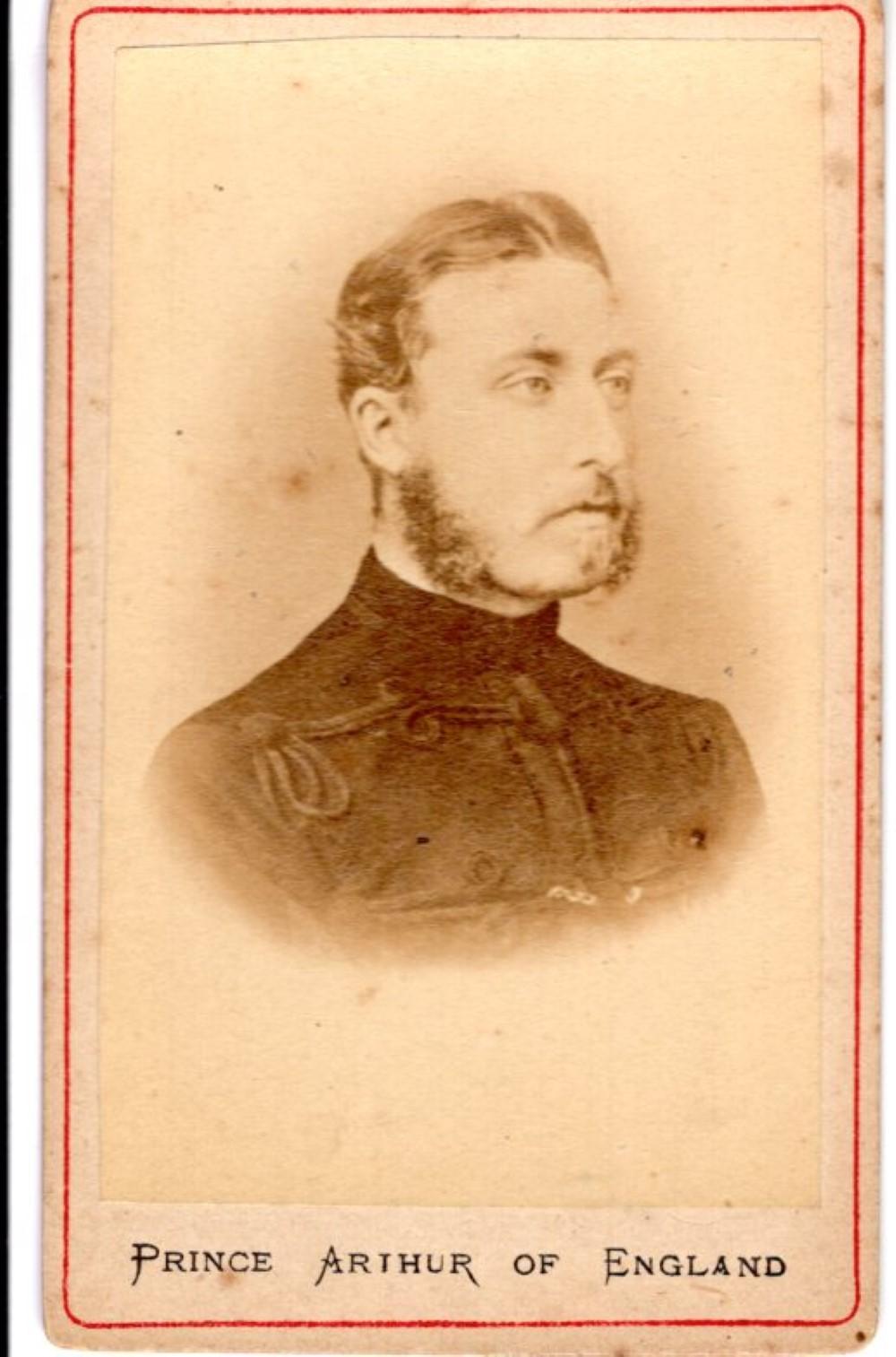Prince Arthur, 1870s CDV