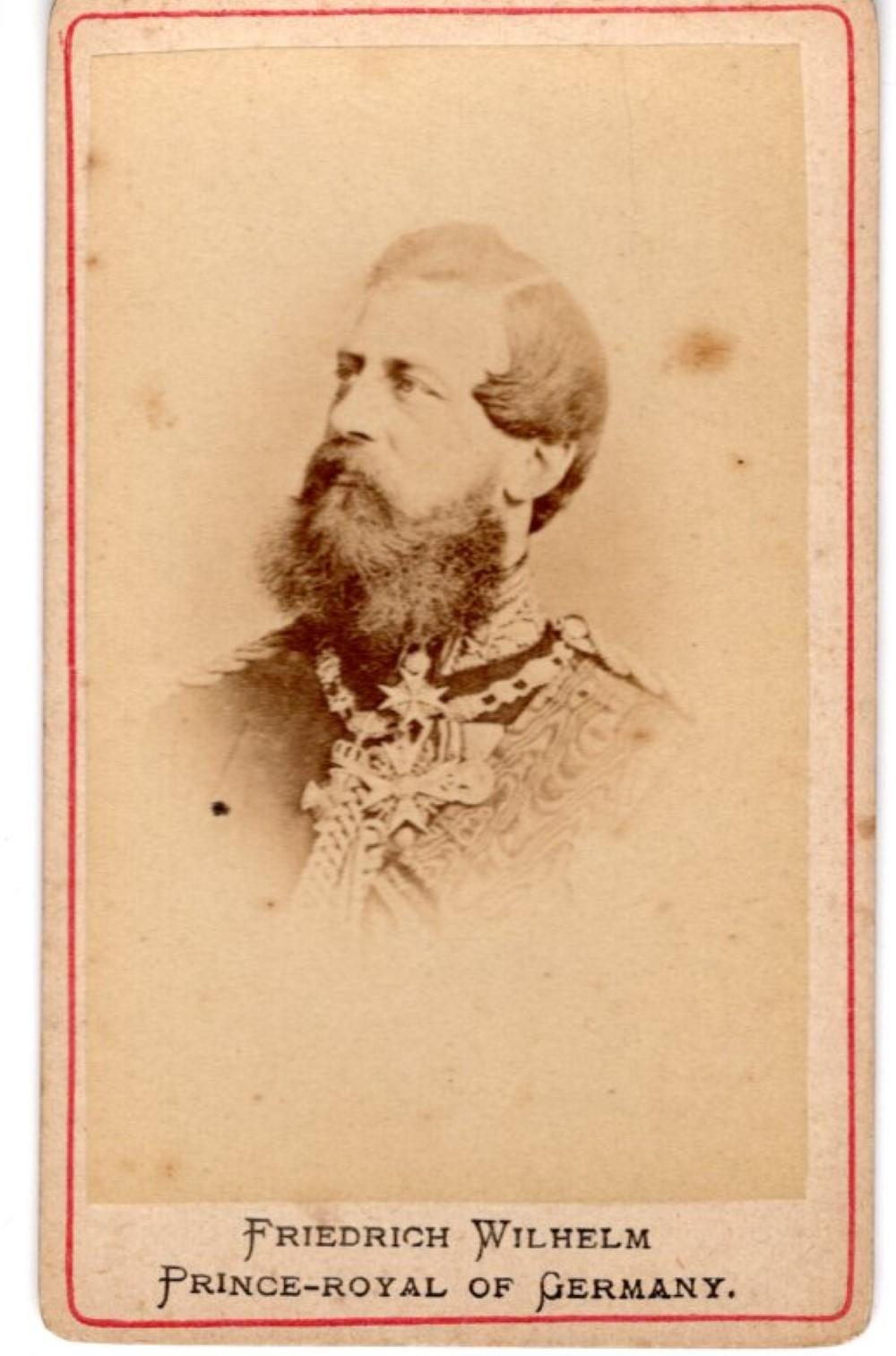 Friedrich Wilhelm, 1870s CDV