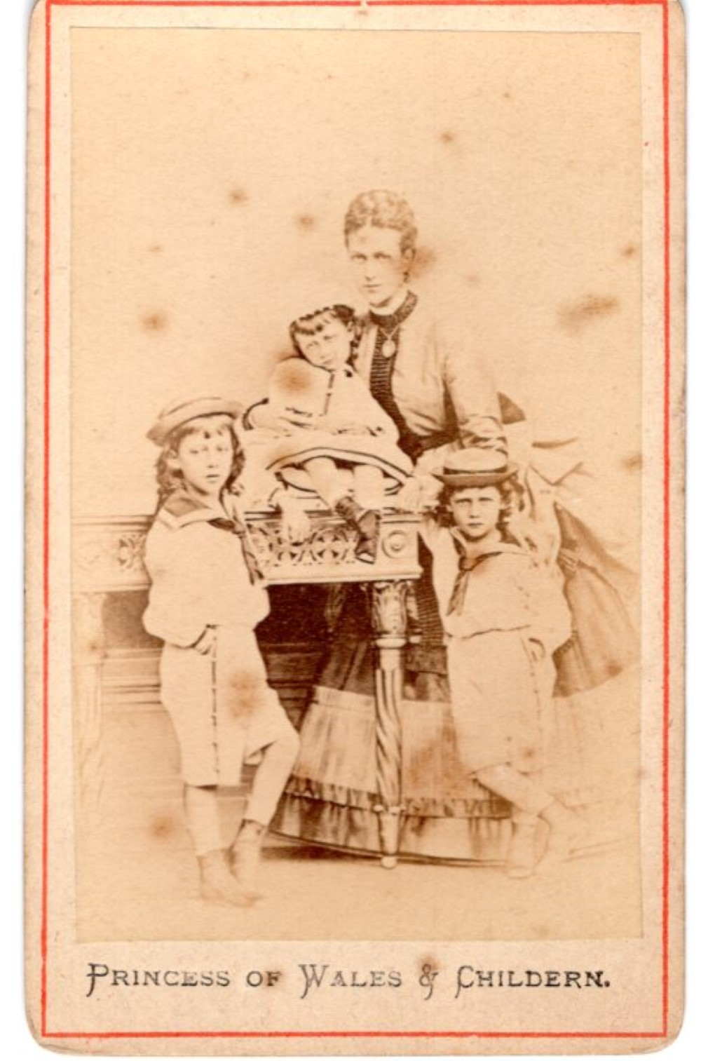 Princess of Wales, 1870s CDV