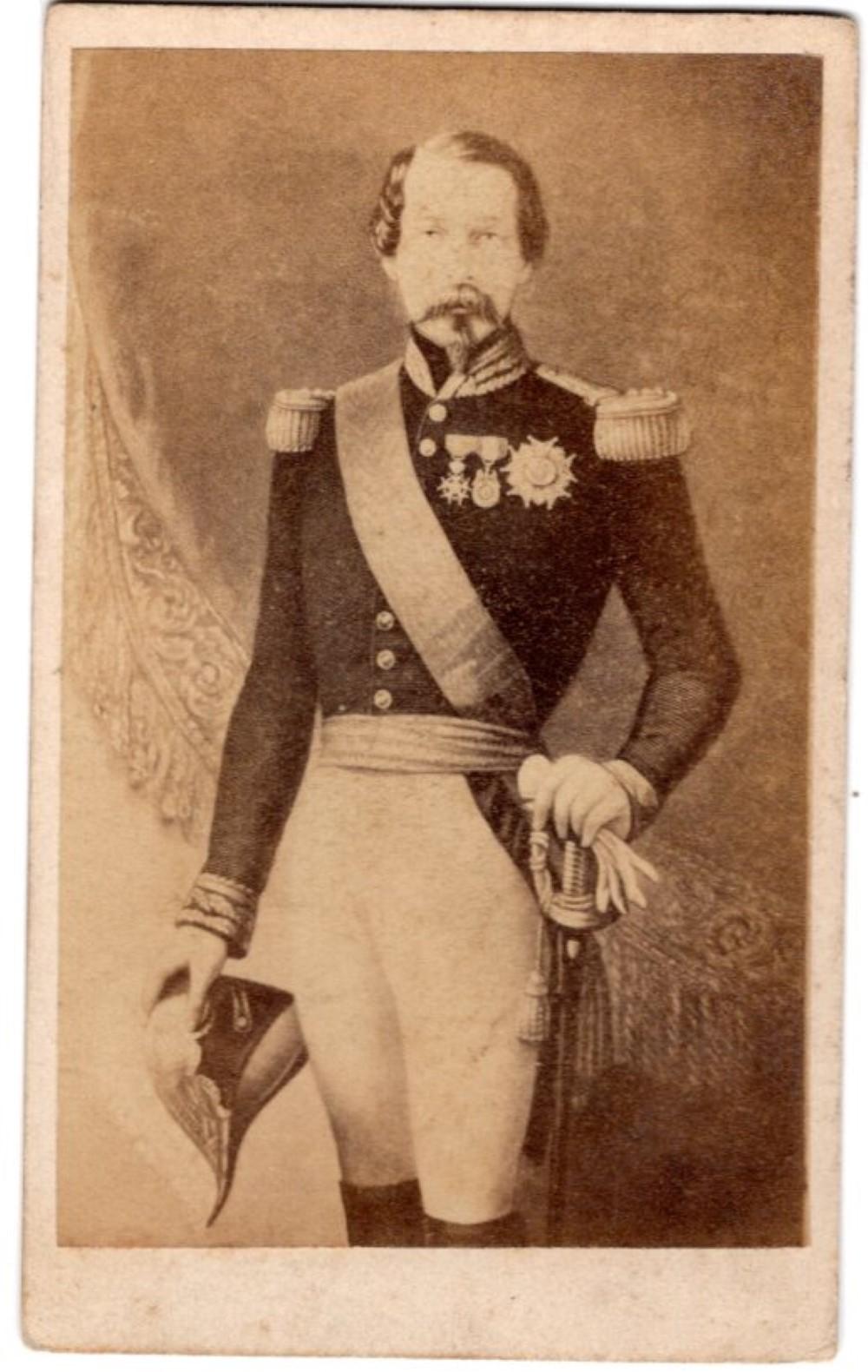 Napoleon III CDV