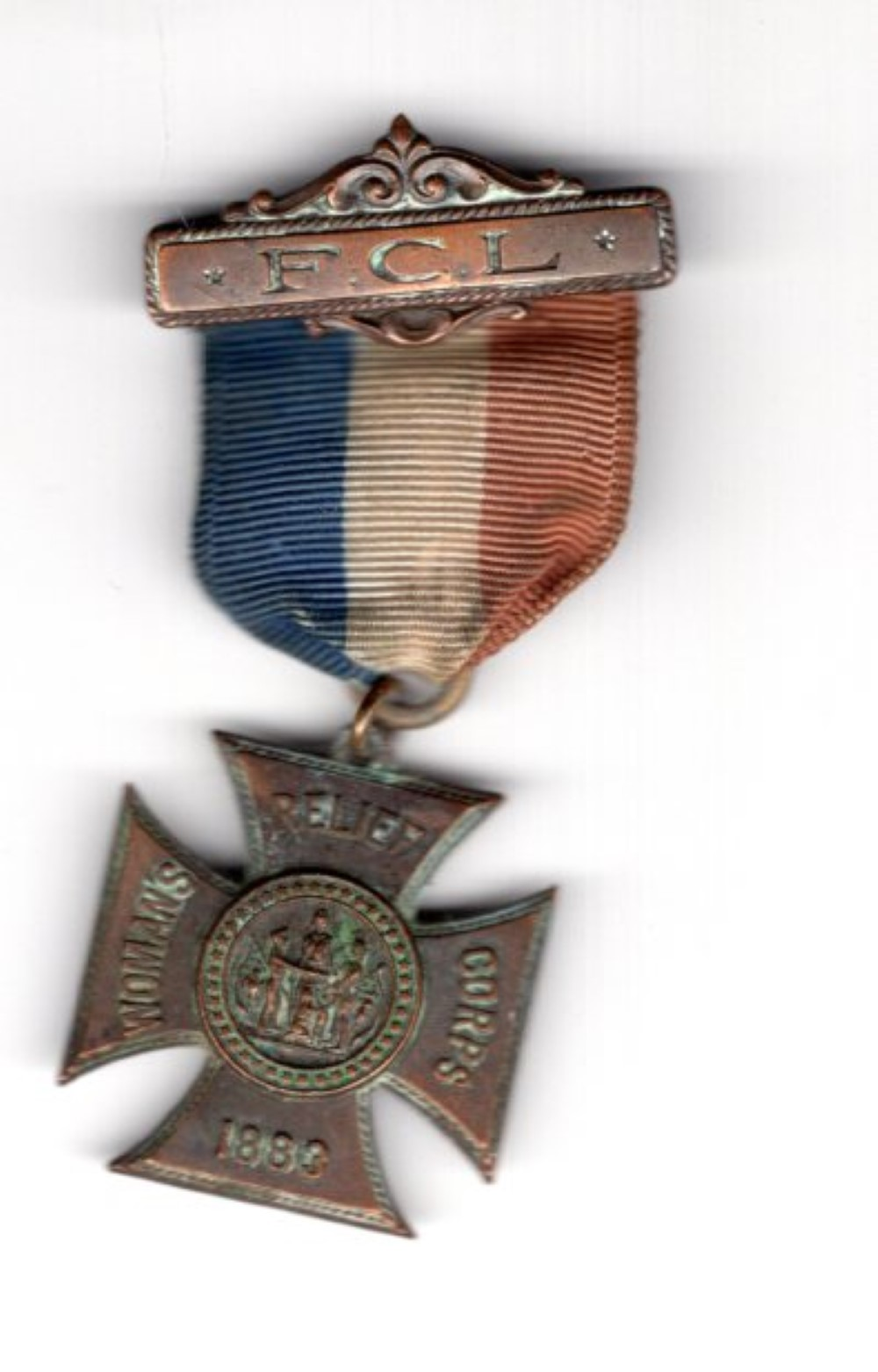 Women's Relief Corps medal