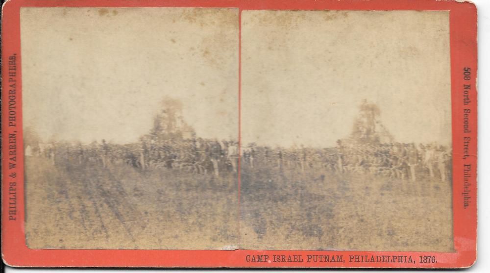 Camp Isreal Putnam, Philadelphia, 1876
