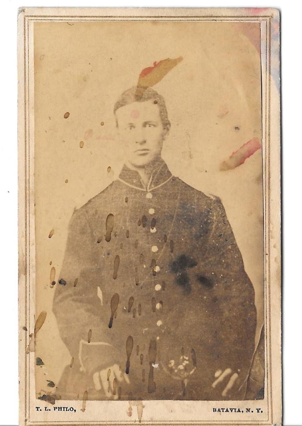 Civil War officer CDV
