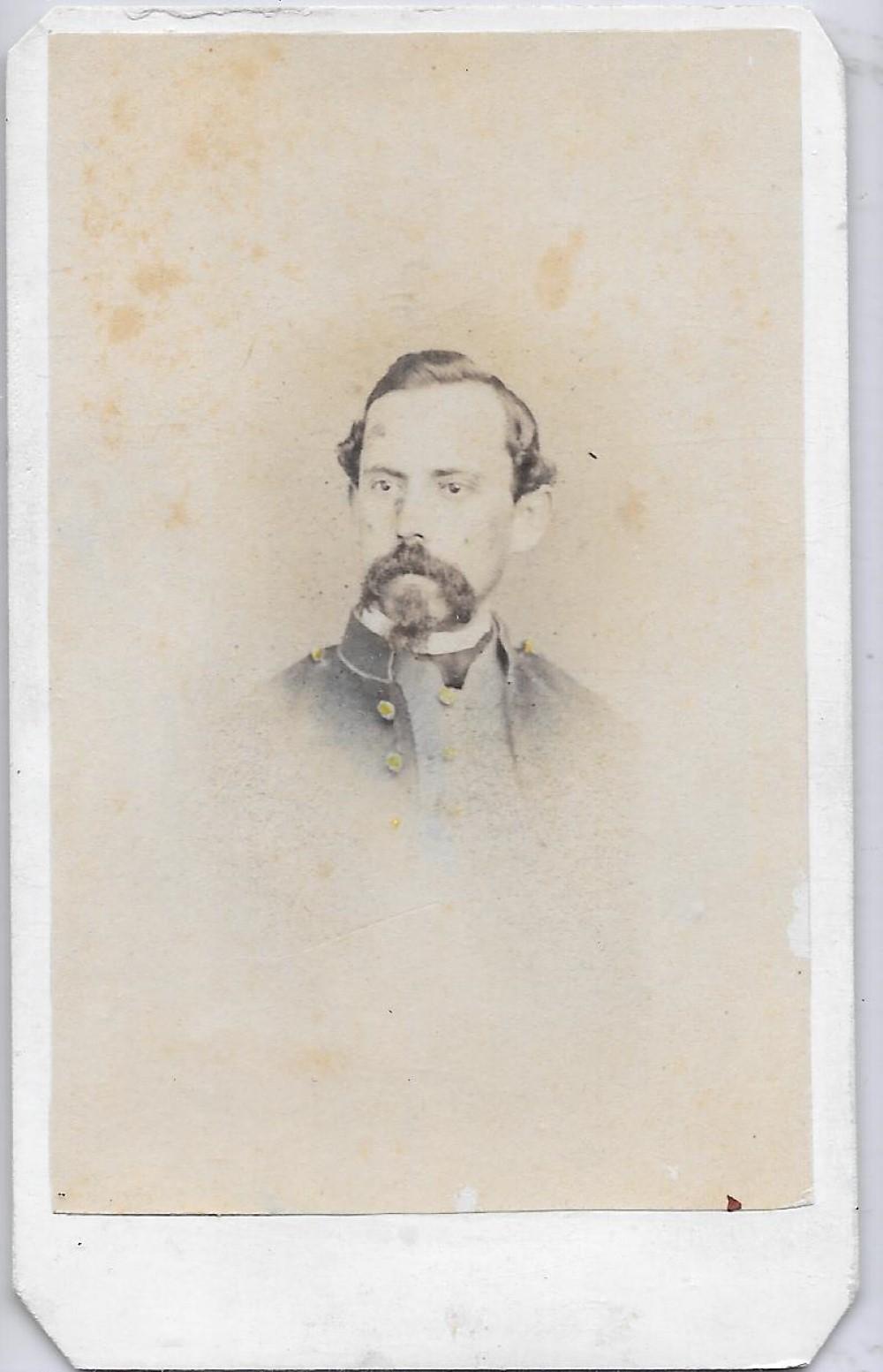 Civil War soldier CDV