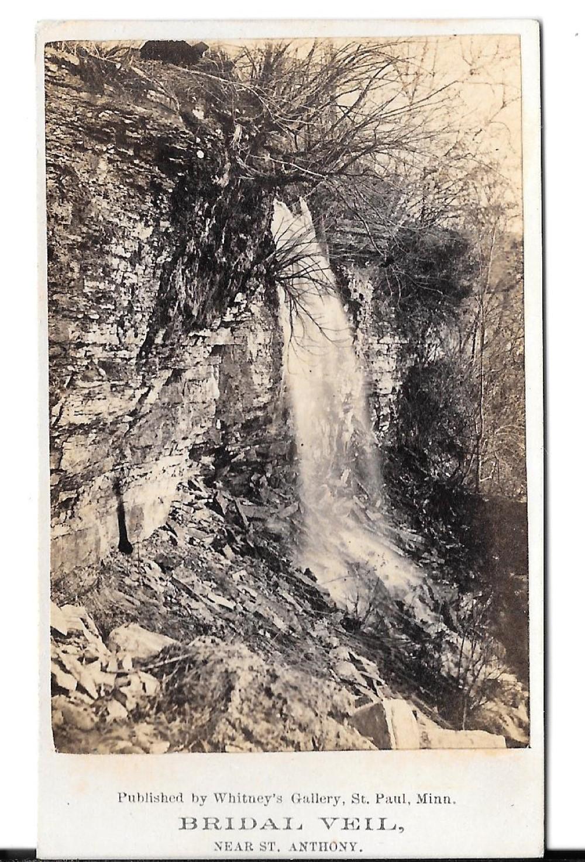 Minnesota waterfall CDVs