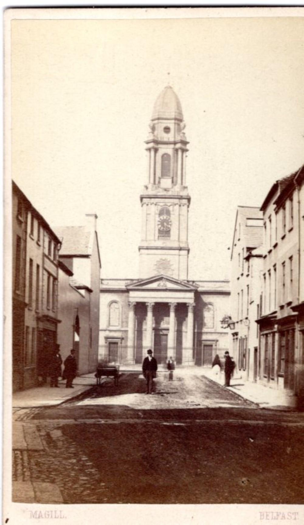 St. Anne's Church, Belfast, 1860s