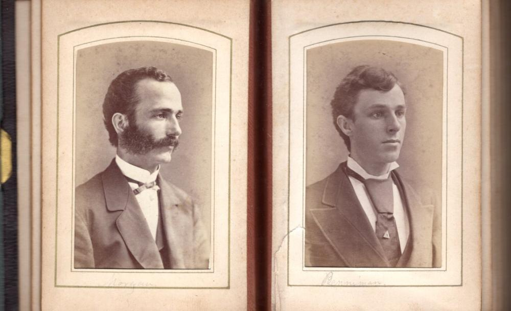 1873 Worcester class CDV album