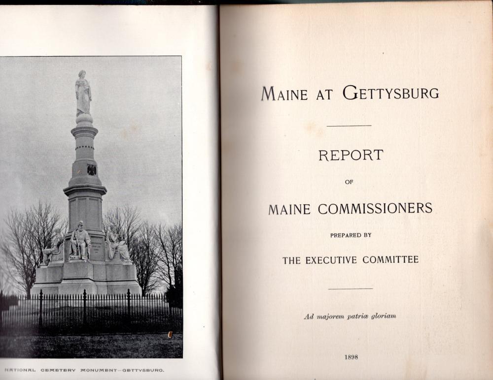 Maine at Gettysburg, 1898