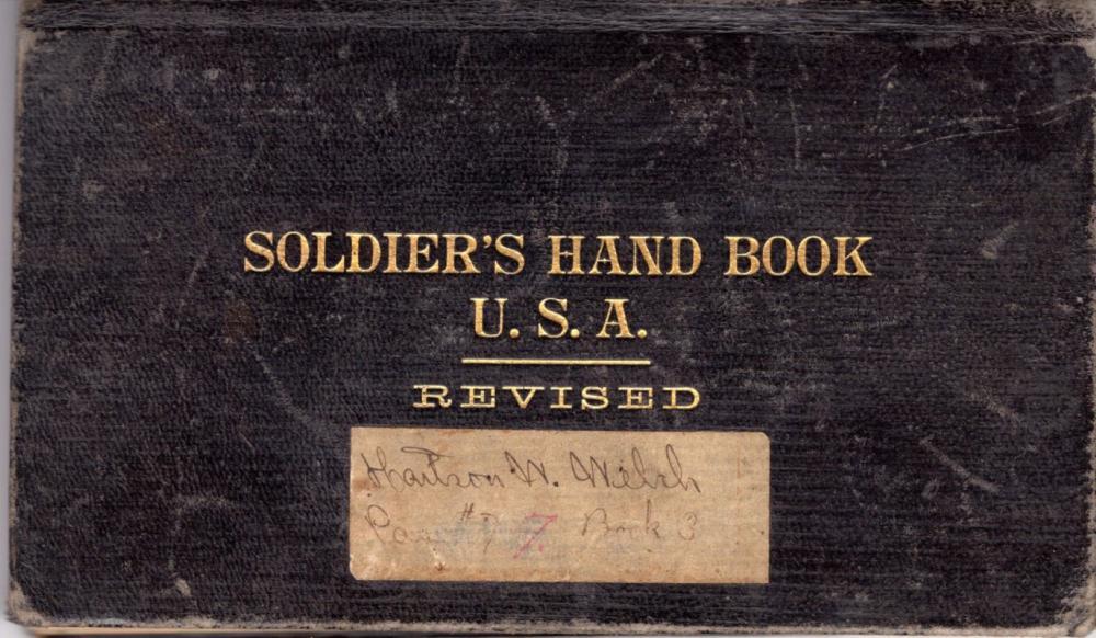 Spanish American War Soldier's handbook, 1898