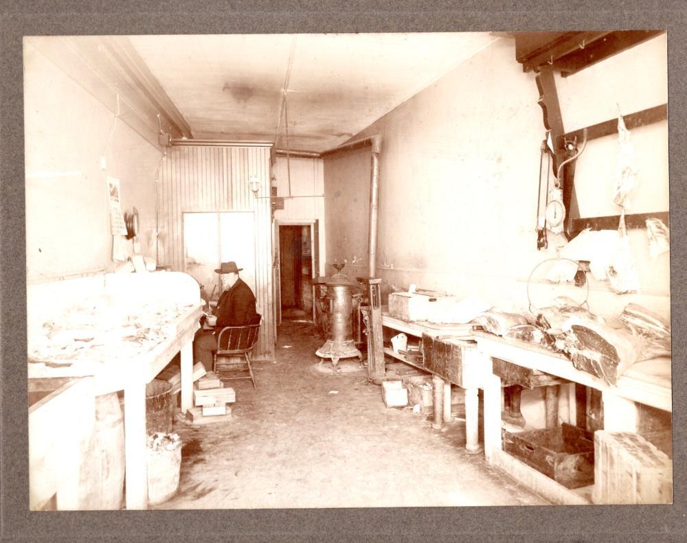 1890s butcher shop