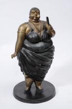Signed Bronze Sculpture