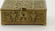 19th Century Art Nouveau German Copper Box