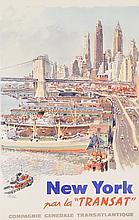 Original poster New York par la