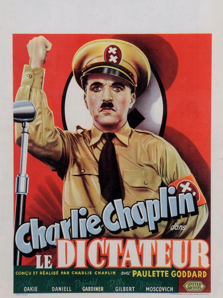 Original Vintage Charlie Chaplin Belgian Movie Poster