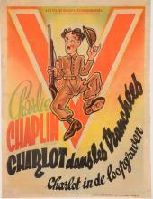 Original Vintage Charlie Chaplin French Movie Poster