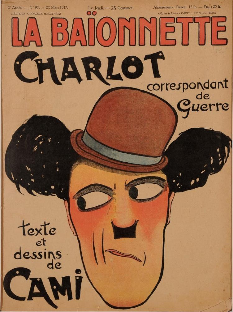 Original Vintage French Magazine Poster