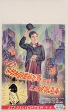 Original  Charlie Chaplin Belgian Movie Poster
