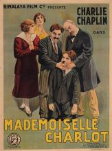 Original Charlie Chaplin French Movie Poster