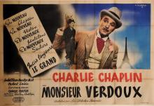 Original Vintage French OVERSIZE Poster for