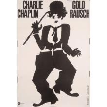 Original Vintage German Charlie Chaplin Movie Poster
