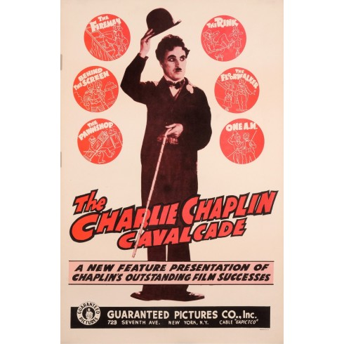 Original American Poster The Charlie Chaplin Cavalcade