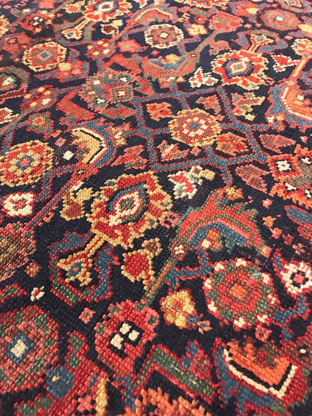 1920s Antique Persian Rug 4 10 3