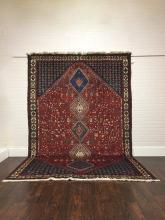 Vintage Tribal Yalameh 7 x 10