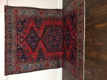 Beautiful Handmade Persian Tribal Hamadan 7'.5 x 11'.3