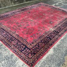 Beautiful Oversized Handmade Old Turkish 10.7 x 14.10