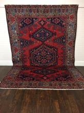 Beautiful Handmade Persian Tribal Hamadan 7'.5 x 11'.3