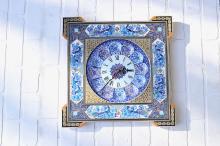 Beautiful Handmade Persian Wall Clock