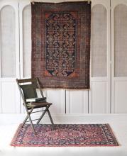 Beautiful Handmade Vintage Persian Tribal Rug 3.4 x 5