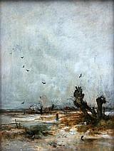 von Stadler, Anton 1850-1917, winterliche weite