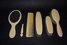 A set of ivory products