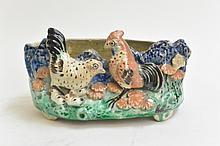 Chinese Ming/Qing Period Brush Pot