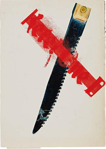 GUYTONWALKER - Untitled (Ketel One Knife), 2004