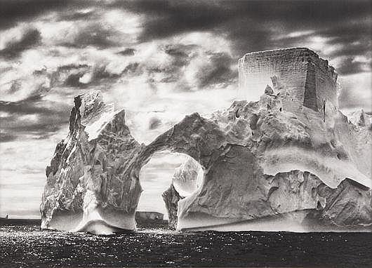 Iceberg between Paulet Islands & the Shetlands Islands, Antarctica from Genesis, 2005