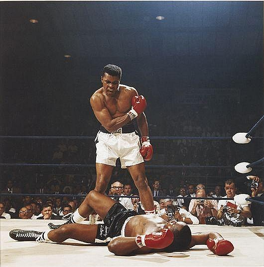 Muhammad Ali vs. Sonny Liston, St. Dominick's Arena, Lewiston, Maine, May 25, 1965