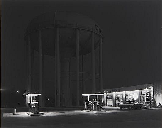 Petit's Mobil Station, Cherry Hill, New Jersey, 1974