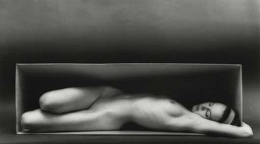 Photographs:  RUTH BERNHARD Folding, 1962