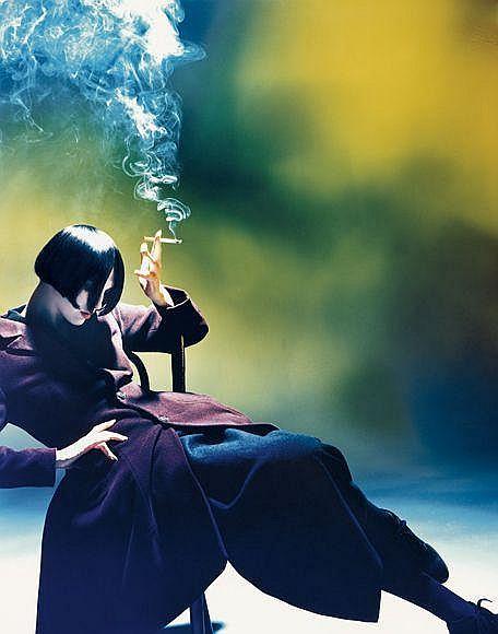 Susie Smoking, 1988
