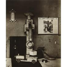 ANDRÉ KERTÉSZ - In a Corner of Léger Studio, Paris, 1927