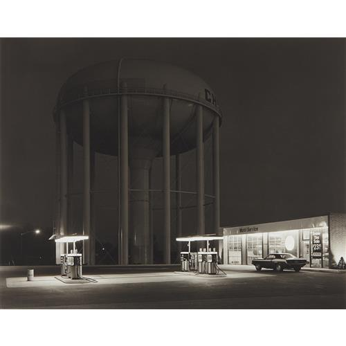 George Tice Petit 39 S Mobil Station Cherry Hill New Jersey