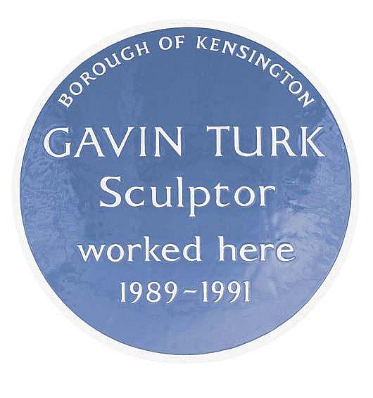 Contemporary Art:   GAVIN TURK Cave, 2000