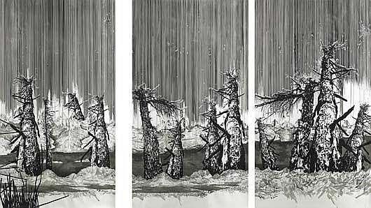 Contemporary Art: YEHUDIT SASPORTAS Three Black