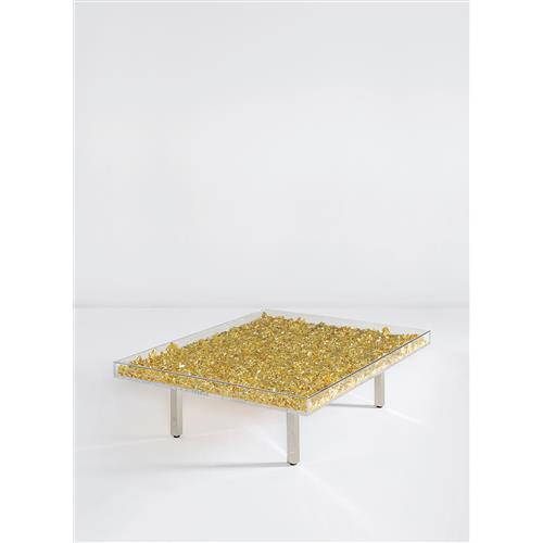 Yves Klein Table Monogold Tm